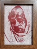 Photostitch - Pfhoto/Portrait embroidered in a single thread