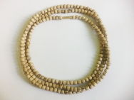 Tulasi necklace /with round beads  (3-rows)