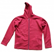 Fleece sweater Red