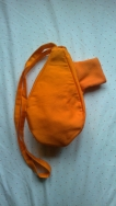 WinterBeadbag Orange