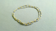 Tulasi necklace /with colourful beads  (2-rows)