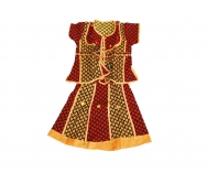 printed Gopi Dress / different sizes